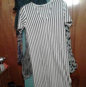 Pinstripe Dress Zara